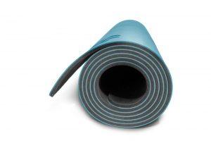Yoga Mat - Deep Blue (side view)