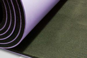 Yoga Mat - Light Purple (detail)