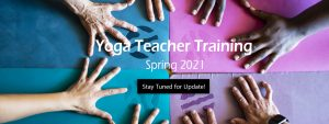 Yoga Teacher Training - Spring 2021 open now